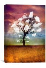 ATMOSPHERIC TREE - PICK ME A CLOUD, Canvas Print