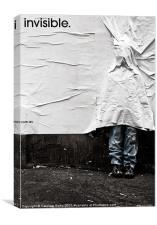 Invisible.com.au, Canvas Print