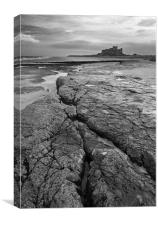 Bamburgh Castle No3, Canvas Print