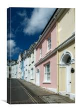 Salcombe Street, Canvas Print