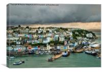 After the Storm - Brixham , Canvas Print