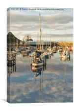 Harbour Reflections, Canvas Print
