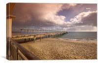 Boscombe pier 2, Canvas Print