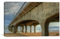 Boscombe pier 3, Canvas Print