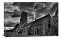 Church, Canvas Print