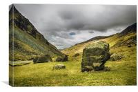 Stones at Honister Pass