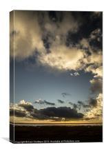 Cloud Porn at Sunset, Canvas Print
