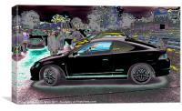 Honda Type R, Canvas Print