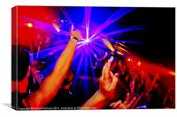 Clubbing Life VII, Canvas Print