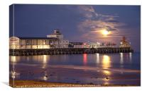 Moonrise over Bournemouth Pier
