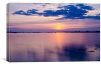 Crimson Sundown at Baiter beach