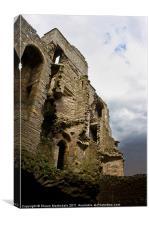 Bolton Castle Ruins, Canvas Print