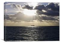 Over the Irish Sea, Canvas Print