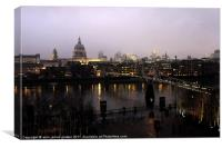 london city life, Canvas Print