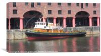 liverpool albert dock, Canvas Print