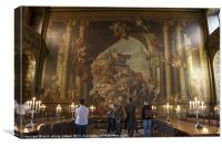 greenwich naval college, Canvas Print