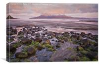 Sunrise on the Isle of Rum, Canvas Print