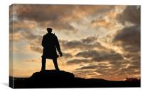 David Stirling Monument, Canvas Print
