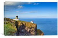 St Abb's Lighthouse, Canvas Print