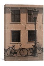 Vintage Bicycles, Canvas Print