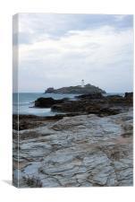 Godrevy Lighthouse 3, Canvas Print