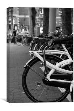 The Bicycle Wheel, Canvas Print