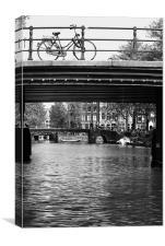Under The Bridge, Canvas Print
