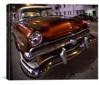 Miami Cruiser, Canvas Print