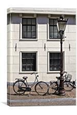 Vintage Bicycles - Plain, Canvas Print