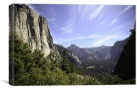 Yosemite Valley, Canvas Print