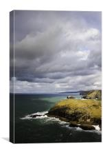 Tintagel Coast, Canvas Print