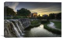 Pioneer Plaza, Canvas Print