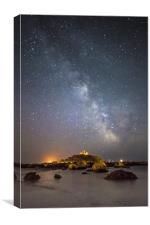 Milky Way at the Mount, Canvas Print