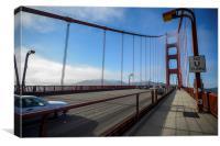 Over the Bridge , Canvas Print