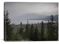 View, Canvas Print
