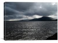 Loch Linhie, Canvas Print