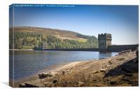 Derwent Dam, Canvas Print