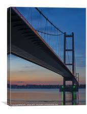 Humber Bridge Reflections, Canvas Print