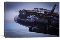 Lancaster, Phantom of the Ruhr, Canvas Print
