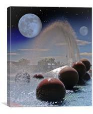Extra Solar Planet Fantasy, Canvas Print