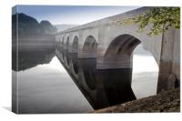 Bridge Over Silent Waters, Canvas Print