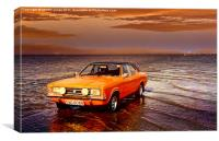 Cortina on the Causeway, Canvas Print