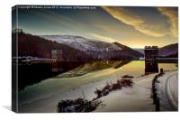Another Frozen Dawn at Howden, Canvas Print