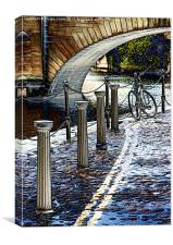Riverside Mood, Canvas Print