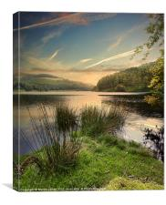 Towards Derwent, Canvas Print