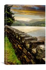 Over The Wall, Canvas Print