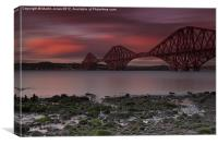 Cantilevers over the Forth, Canvas Print