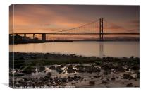 Bridging the Forth, Canvas Print