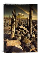 Lindisfarne Sun Up, Canvas Print