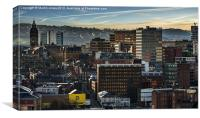 Sheffield Skyline, Canvas Print